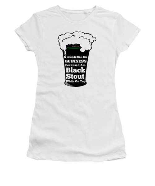 I Love Guinness  Women's T-Shirt (Athletic Fit)