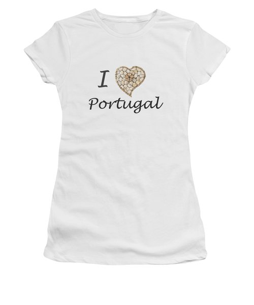 I Love Portugal Women's T-Shirt