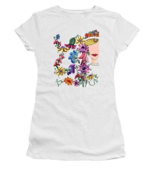 I Love The Flower Girl Women's T-Shirt