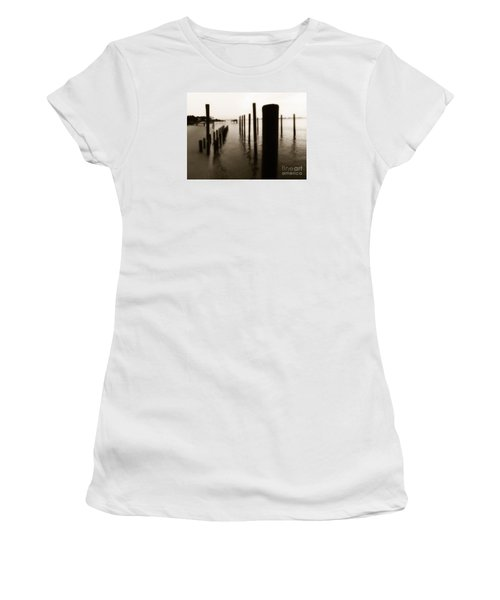 I Miss You  Women's T-Shirt (Athletic Fit)