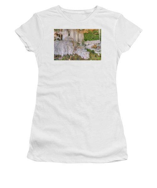 Ice Formations Women's T-Shirt