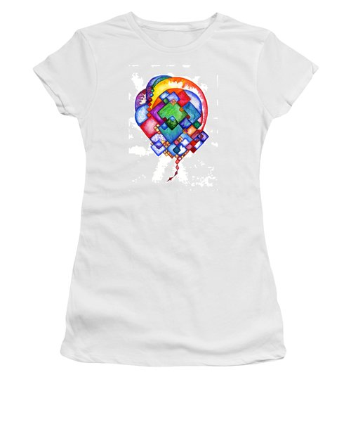 Ideas Born Women's T-Shirt (Athletic Fit)