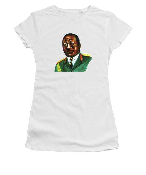 Idi Amin Dada Women's T-Shirt (Athletic Fit)