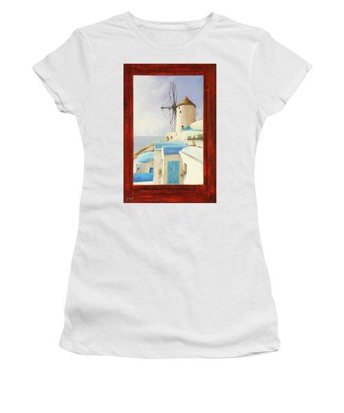 Il Mulino Oltre La Finestra Women's T-Shirt