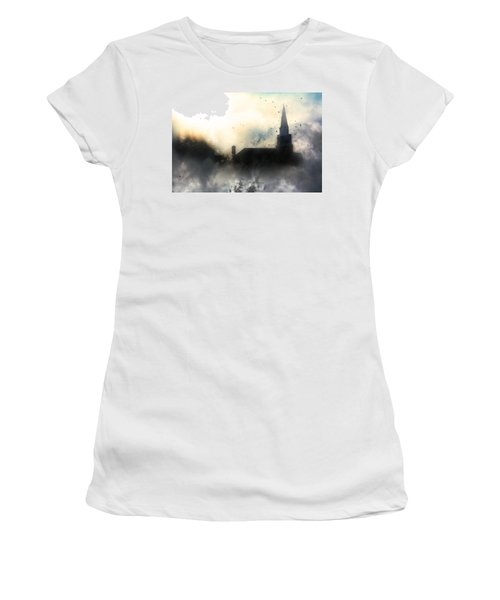 I'll Fly Away Women's T-Shirt (Junior Cut) by Gray  Artus