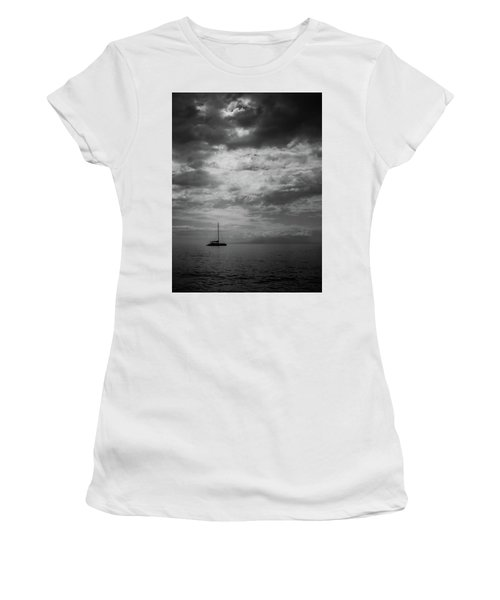 Women's T-Shirt (Junior Cut) featuring the photograph Illumination by Chris McKenna