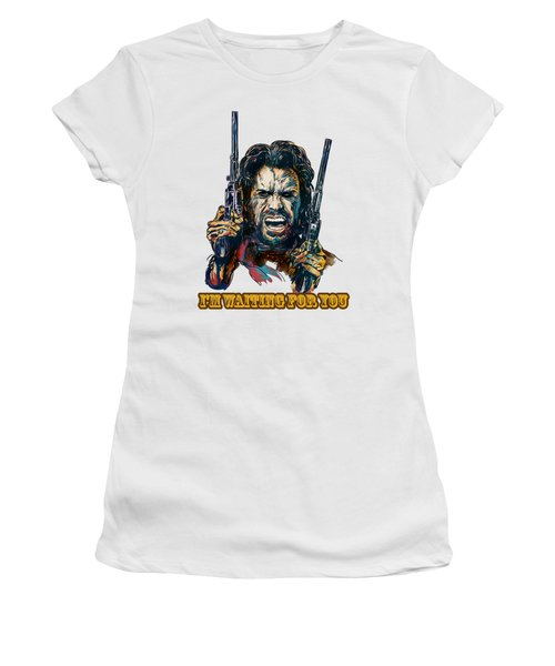 I'm Waiting For You. Women's T-Shirt (Junior Cut) by Andrzej Szczerski