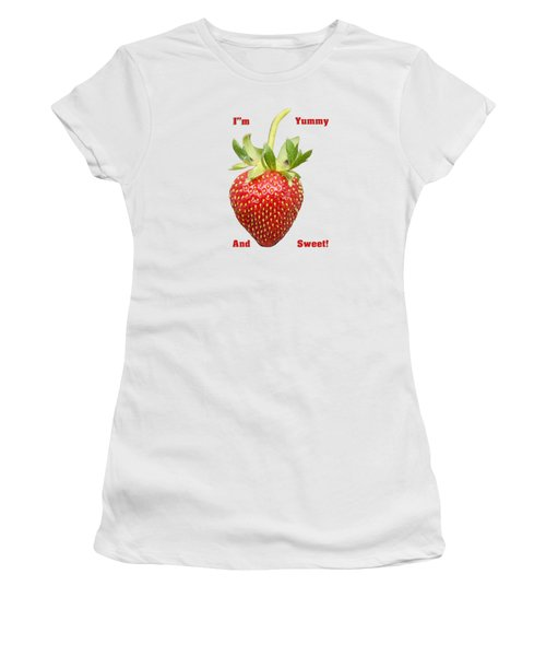 Im Yummy And Sweet Women's T-Shirt (Junior Cut) by Thomas Young
