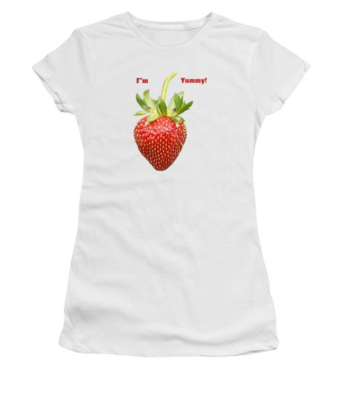 Im Yummy Women's T-Shirt (Junior Cut) by Thomas Young