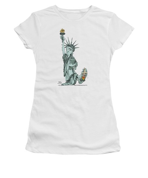Immigration And Liberty Women's T-Shirt