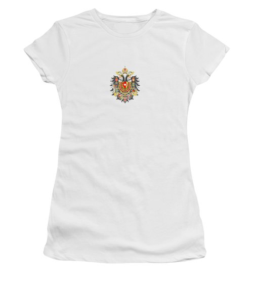 Imperial Coat Of Arms Of The Empire Of Austria-hungary Transparent Women's T-Shirt
