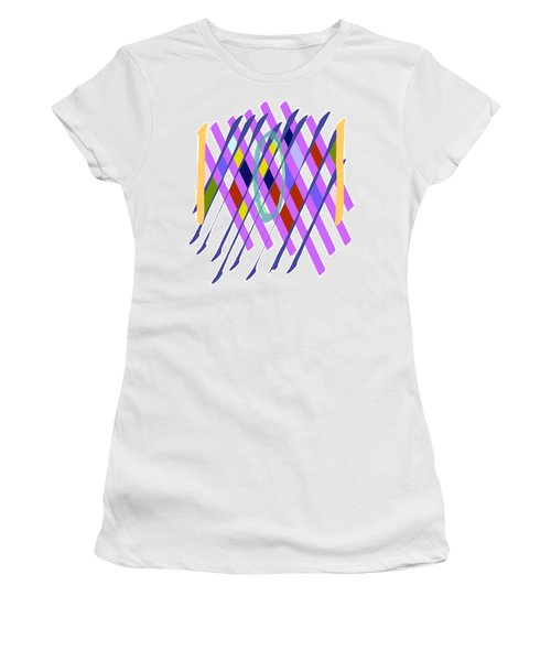 Improvised Geometry #1 Women's T-Shirt