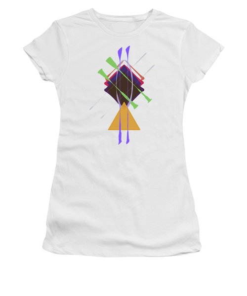 Improvised Geometry #3 Women's T-Shirt