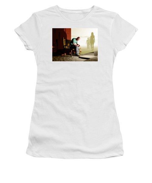In A Fog Of Isolation Women's T-Shirt (Junior Cut) by John Alexander