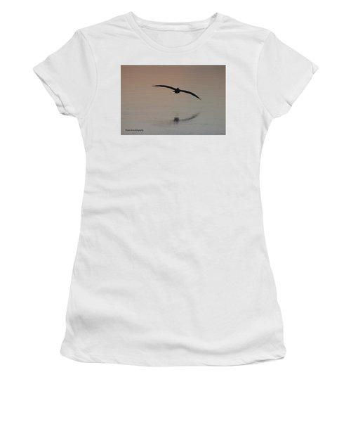 In For The Kill Women's T-Shirt (Junior Cut) by Nance Larson