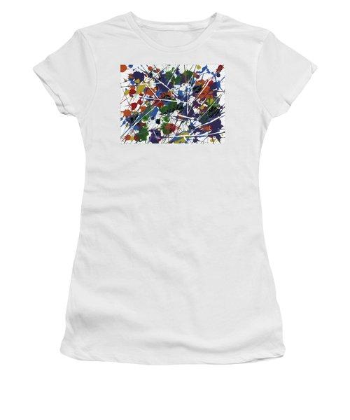 In Glittering Rainbow Shards Women's T-Shirt