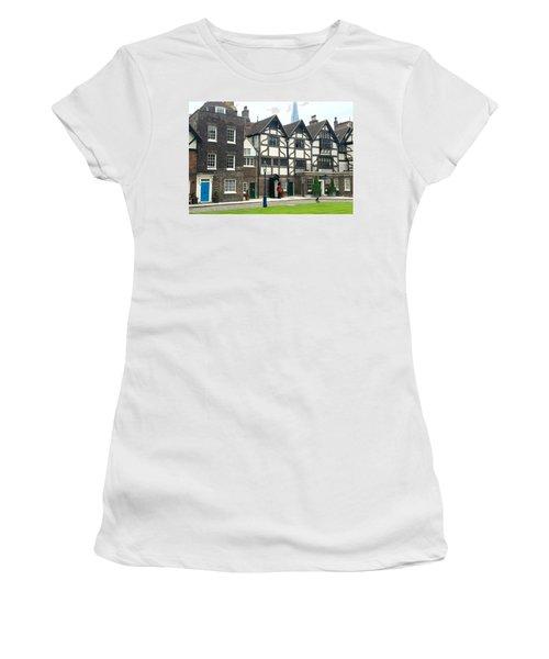 In London Women's T-Shirt (Junior Cut) by Nancy Ann Healy