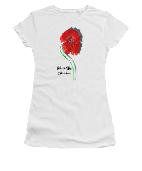 In Remembrance Poppy Women's T-Shirt (Junior Cut) by Barbara St Jean