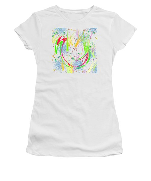 In The Spring Women's T-Shirt (Junior Cut) by Bill Cannon