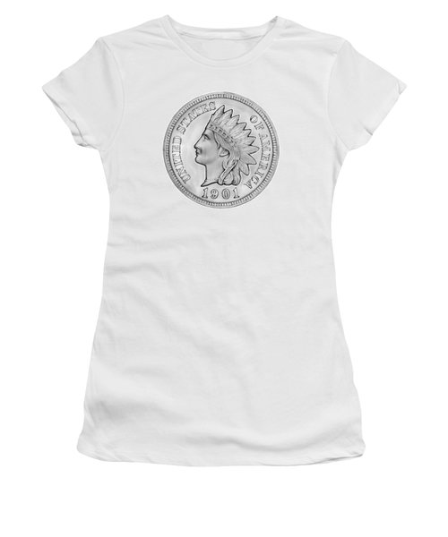 Indian Penny Women's T-Shirt (Athletic Fit)