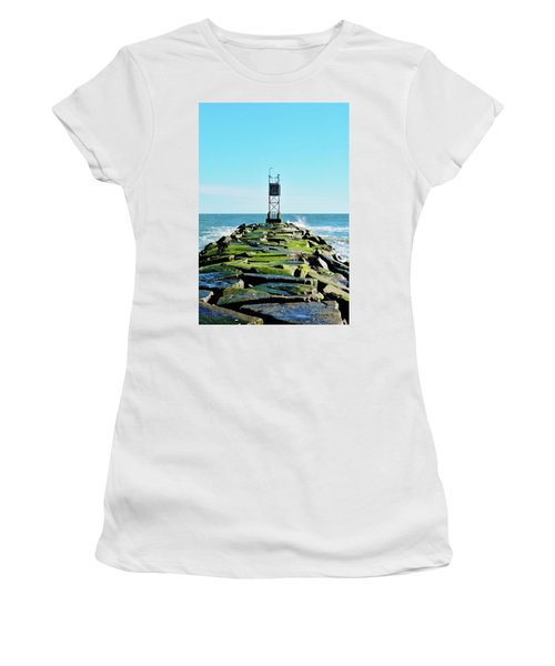 Indian River Inlet Women's T-Shirt (Junior Cut) by William Bartholomew