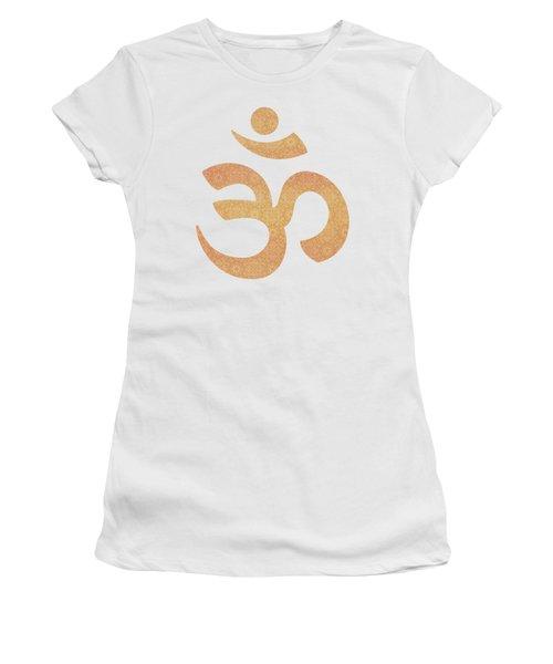 Indian Summer Mandala Copper Women's T-Shirt (Athletic Fit)