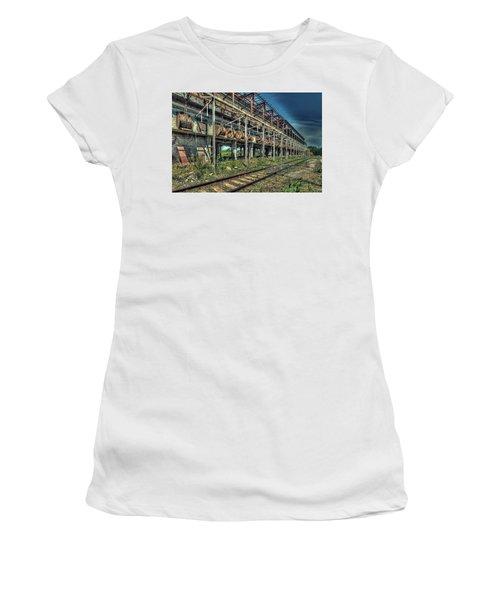 Industrial Archeology Railway Silos - Archeologia Industriale Silos Ferrovia Women's T-Shirt