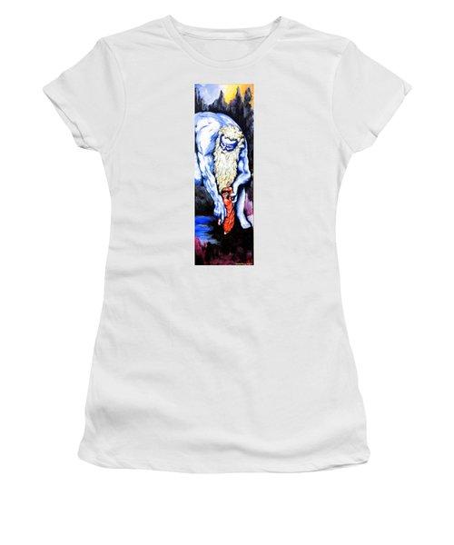 Inferno Women's T-Shirt (Junior Cut) by Victor Minca