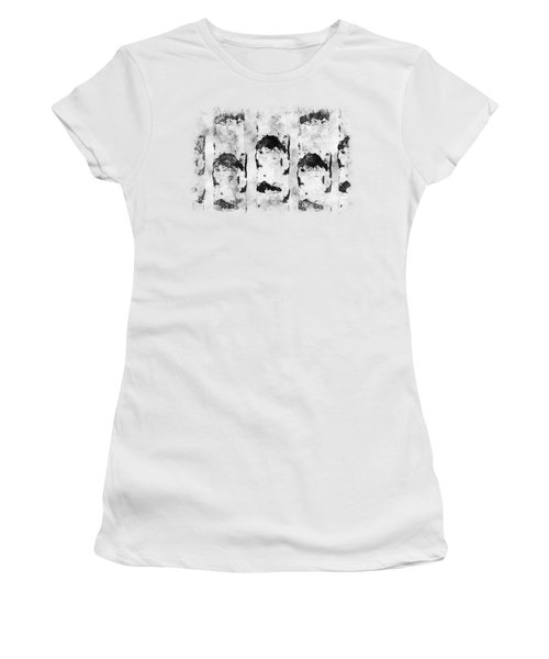Ink Birches Women's T-Shirt (Junior Cut) by Anton Kalinichev