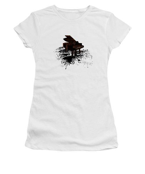 Inked Gold Piano Women's T-Shirt