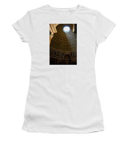 Inside The Pantheon Women's T-Shirt (Junior Cut) by Rainer Kersten