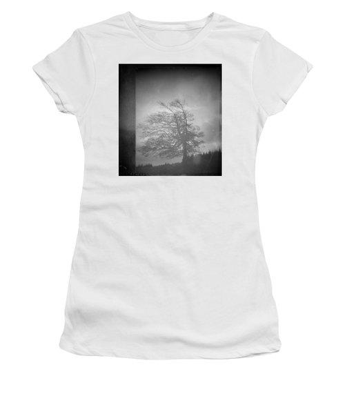 Inside Voice  Women's T-Shirt (Junior Cut) by Mark Ross