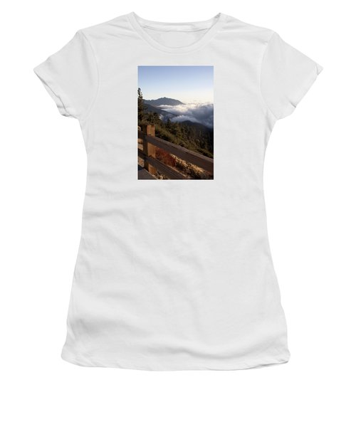 Inspiration Point Women's T-Shirt (Junior Cut) by Ivete Basso Photography