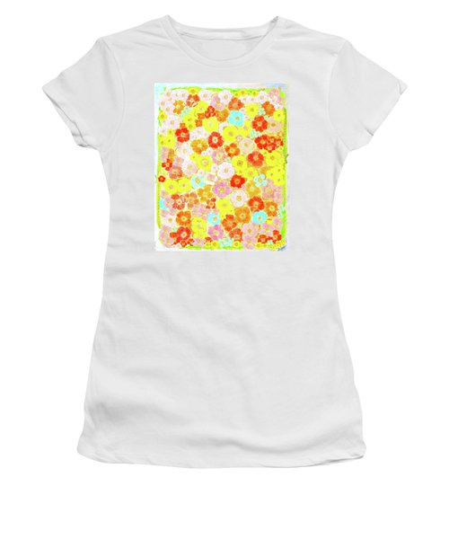 Inspired By Persimmon Women's T-Shirt (Junior Cut) by Lorna Maza
