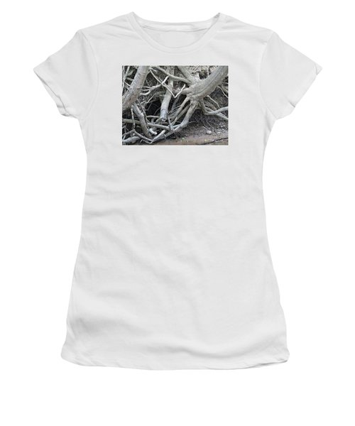 Intertwined Women's T-Shirt (Athletic Fit)