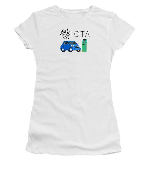 Iota Electric Charger Women's T-Shirt (Athletic Fit)