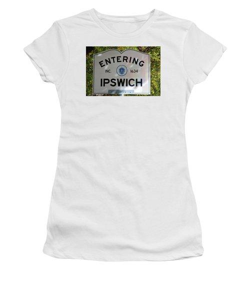 Ipswich 1634 Women's T-Shirt (Athletic Fit)