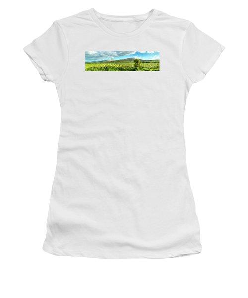 Ireland  - Burren Panorama Women's T-Shirt (Athletic Fit)