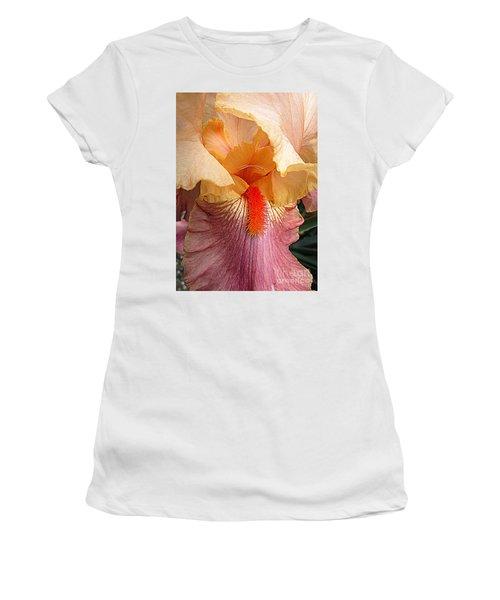Iris Garden 19 Women's T-Shirt (Junior Cut) by Randall Weidner