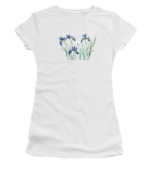 Iris In Japanese Style Women's T-Shirt