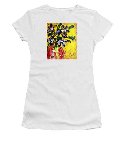 Irises Women's T-Shirt (Athletic Fit)