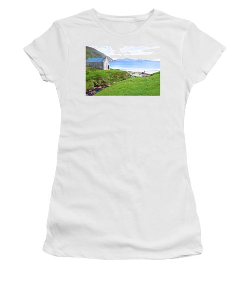 Irish Treasures.. Past And Present Women's T-Shirt (Junior Cut) by Charlie and Norma Brock