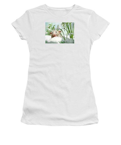 Is It Spring Yet ? Women's T-Shirt (Junior Cut) by Morag Bates