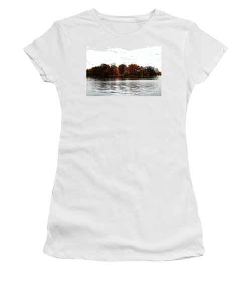 Island Of Trees Women's T-Shirt (Junior Cut) by Ana Mireles