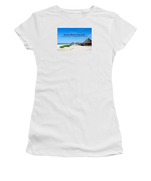 Island Time Women's T-Shirt (Junior Cut) by Margie Amberge
