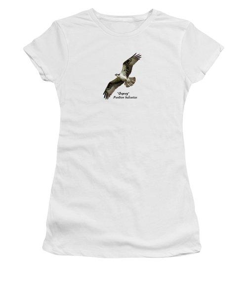 Isolated Osprey 2017-1 Women's T-Shirt