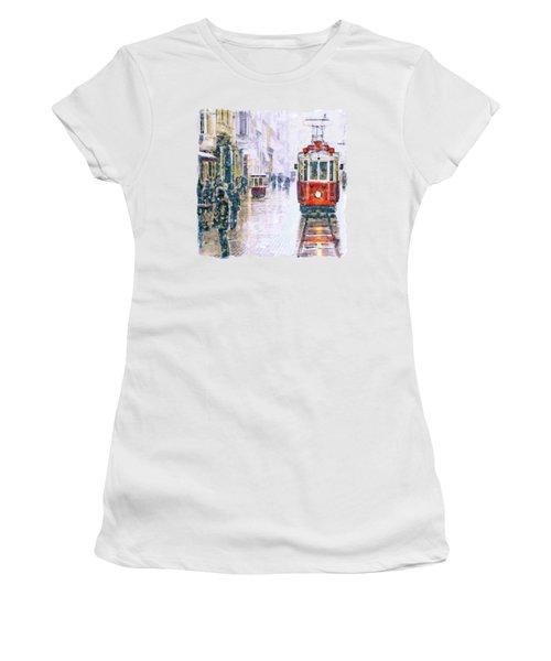 Istanbul Nostalgic Tramway Women's T-Shirt