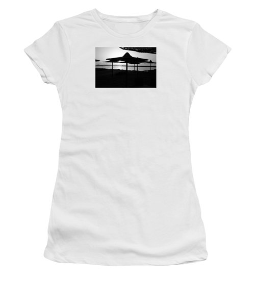 Women's T-Shirt (Junior Cut) featuring the photograph It Can Be Done by Jez C Self