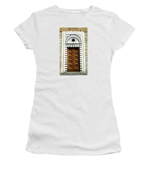 Italy, Door, Florence, Firenze Women's T-Shirt (Athletic Fit)
