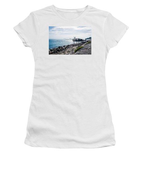 Italy - The Trabocchi Coast 2  Women's T-Shirt